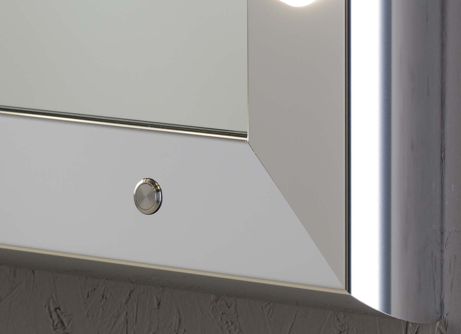 Specchi con luci di design della linea sp unica by cantoni