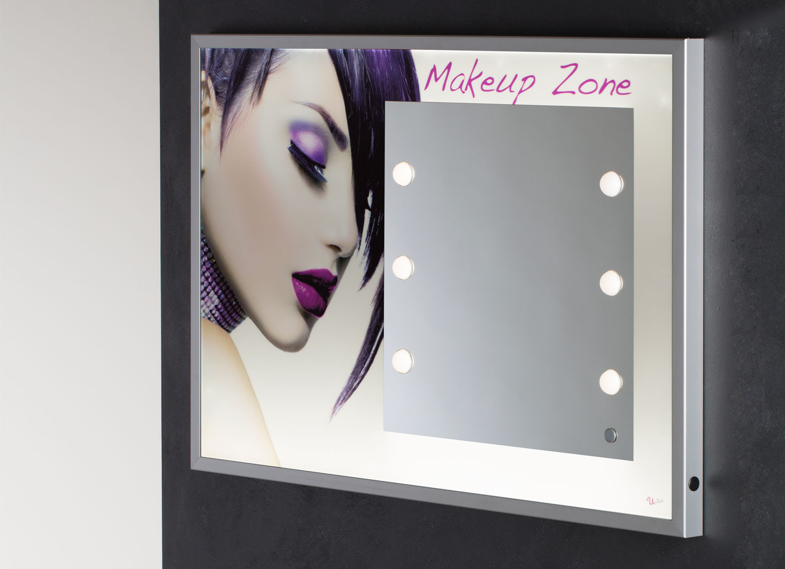 MPH backlit LED panel with I-light mirror