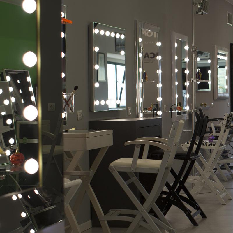 Showroom specchi lusso Unica