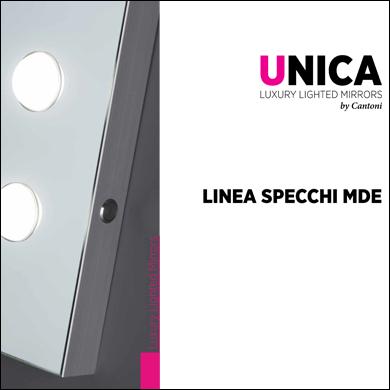 Catalogo Specchi illuminati MDE Unica by Cantoni