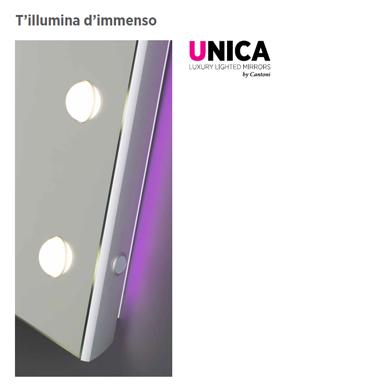 Specchi e Pannelli Luminosi Unica