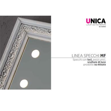 Specchi e pannelli luminosi Unica - Catalogo 2019