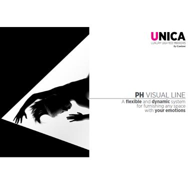 Unica backlit panel 2019 catalogue