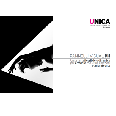 Pannelli visual luminosi - catalogo 2019