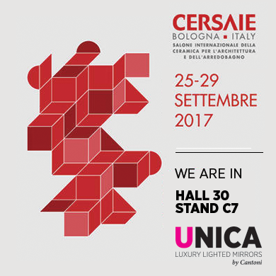 Unica by Cantoni at Cersaie 2017