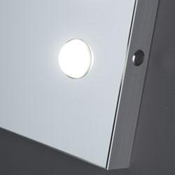 Specchio illuminato modulare MDE con luce I-light