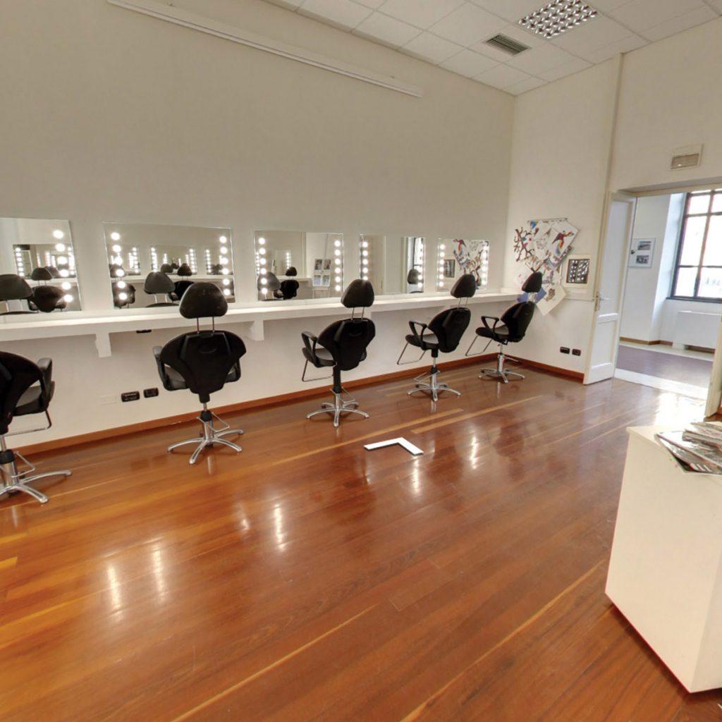 Lighted Mirror Equipment For Makeup Artist School Furniture