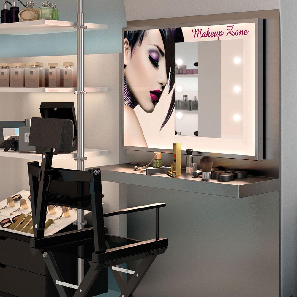 Specchi di design per centri estetici