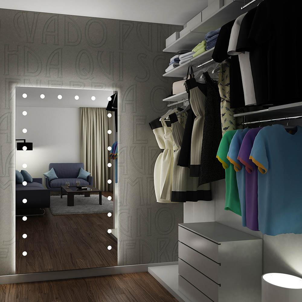 Specchio per cabina armadio