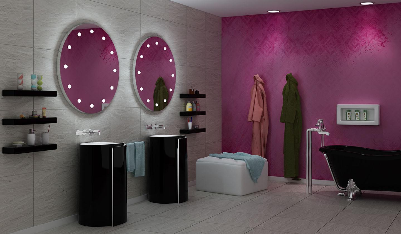 Specchi di lusso per il bagno Unica