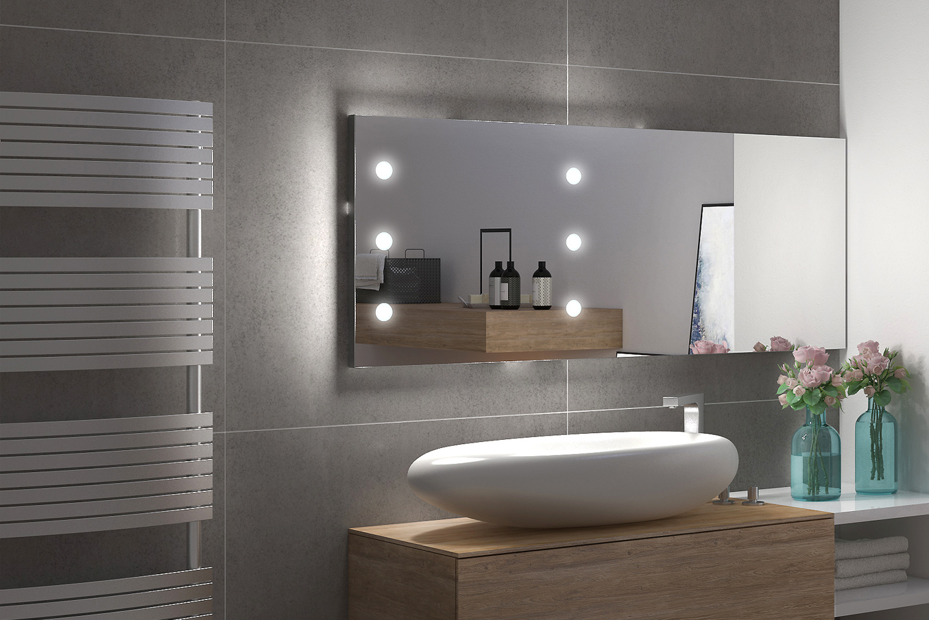 What Is The Best Bathroom Mirror The Best Illuminated Of Course Linea Unica