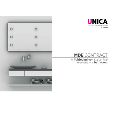 Catalogo specchi per contract Unica 2019