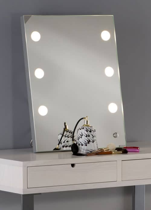 free standing table mirror