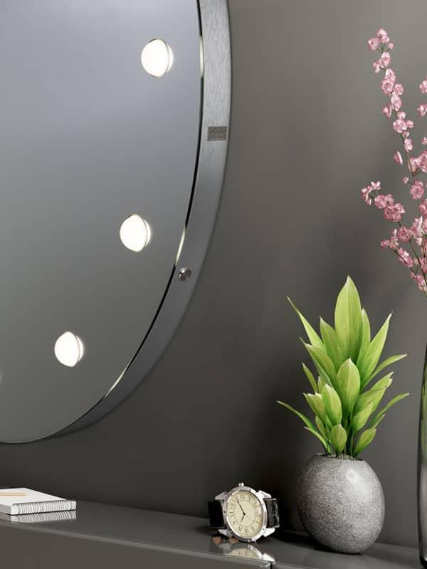 specchio rotondo ingresso MDE