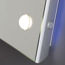 Specchio illuminato MH con luce I-light frontale e retroilluminazione